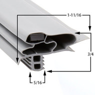 Profile-618-Custom-Undercounter-Door-Gasket-gasket-618-Delfield-1