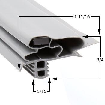 Profile-618-Custom-Drawerr-Gasket-gasket-618-Delfield-1