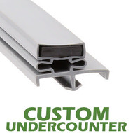 Profile-168-Custom-Undercounter-Door-Gasket-gasket-168-3