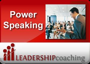 Coaching - Persuasive Speaking