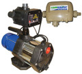 RS3E Rainsaver and the BIA-MULTI900PC Electonic Self Priming Jet Pump