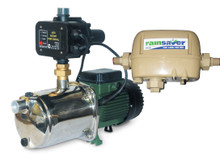 RS3E Rainsaver and the DAB-EUROINOX40/80MPCX Horizontal Multistage Electronic Self Priming Pump With Auto Restart