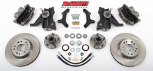 "1973-1987 GMC C-10 Front 13"" Disc Brake Kit W/Drop Spindles; 5x4.75 Bolt Pattern - McGaughys 33158"