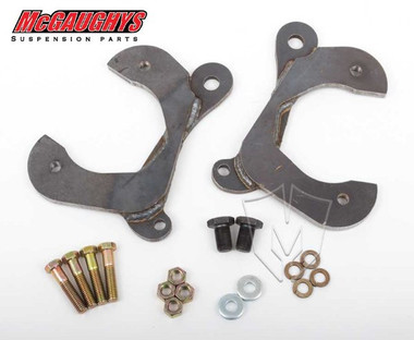 McGaughys Chevrolet Fullsize Car 1955-1958 Front Disc Brake Conversion Brackets; Stock Spindles - Part# 63200