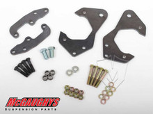 McGaughys Chevrolet Fullsize Car 1959-1964 Front Disc Brake Conversion Brackets; Stock Spindles - Part# 63224