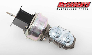 "McGaughys Chevrolet Fullsize Car 1958-1964 7"" Brake Booster With Master Cylinder & Bracket - Part# 63225"