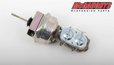 "McGaughys Chevrolet Nova 1962-1967 7"" Brake Booster With Master Cylinder & Bracket - Part# 63235"