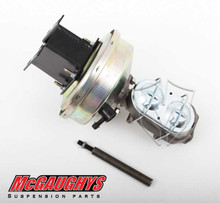 "McGaughys GMC C-10 1967-1972 9"" Brake Booster With Master Cylinder & Bracket; Front Drum Brakes - Part# 63184"