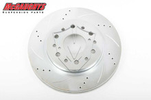 "McGaughys Chevrolet C-10 1960-1987 13"" Cross Drilled Disc Brake Rotor; 6x5.5 Bolt Pattern - Passenger Side - Part# 63140"