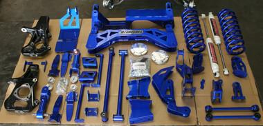 "McGaughys Chevrolet Avalanche 4wd, HD Shocks 2007-2013 7"" Lift Kit W/Shocks - Part# 50735"