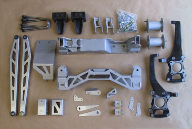 "2009-2014 Ford F150 4wd 6.5"" McGaughys Lift Kit W/ Rear Shocks - McGaughys 57050"