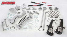 "2011-2013 Chevy Silverado 3500HD Dually 2wd DRW Diesel 7"" Lift Kit- McGaughys 52301"