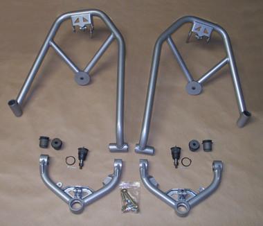 McGaughys Chevrolet Silverado 1500 2wd & 4wd 1999-2006 Double Shock Hoops With Upper Control Arms - Part# 50150