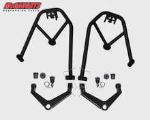 McGaughys Chevrolet Silverado 2500HD 2wd & 4wd 1999-2010 Double Shock Hoops With Upper Control Arms - Part# 52150