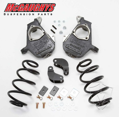 "2001-2006 Chevrolet Avalanche W/ Auto Ride 2/3"" Deluxe Drop Kit - McGaughys 33047"