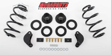 McGaughys Chevrolet Avalanche LD Shocks 2007-2012 2/3 Economy Drop Kit - Part# 34065
