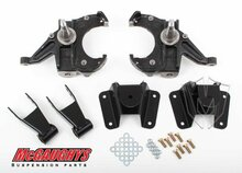 McGaughys Chevrolet C-10 LD Brakes 1973-1987 2.5/4 Deluxe Drop Kit - Part# 93130