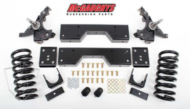 "McGaughys Chevrolet C1500 Silverado W/ 1"" Thick Rotors 1988-1998 4/6 Deluxe Drop Kit - Part# 33138"