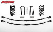 McGaughys Chevrolet S-10 Standard Cab 1982-2003 2/4 Economy Drop Kit W/Leaf Springs - Part# 93110