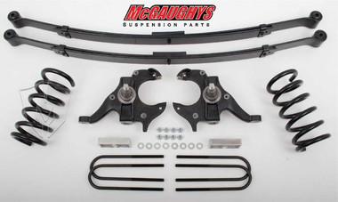 McGaughys Chevrolet S-10 Standard Cab 1982-2003 4/4 Deluxe Drop Kit W/Leaf Springs - Part# 93114