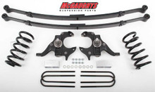 McGaughys Chevrolet S-10 Standard Cab 1982-2003 4/5 Deluxe Drop Kit W/Leaf Springs - Part# 93116