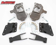 "2001-2010 Chevy Silverado 1500HD W/ 6 Hole Hangers 2/4"" Deluxe Drop Kit - McGaughys 33082"