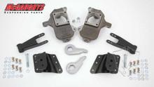 """2001-2010 Chevy Silverado 2500/3500 HD W/ 6 Hole Hangers 3/5"""" Deluxe Drop Kit - McGaughys 33084"""