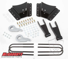 "2001-2010 Chevy Silverado 2500/3500 HD W/ 10 Hole Hangers 2/4"" Economy Drop Kit - McGaughys 33076"