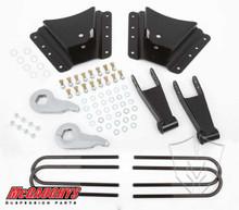"2001-2010 Chevy Silverado 2500/3500 HD W/ 10 Hole Hangers 2/4"" Economy Drop Kit - McGaughys 33076"