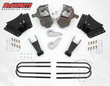 "2001-2010 Chevy Silverado 2500/3500 HD W/ 10 Hole Hangers 3/5"" Deluxe Drop Kit - McGaughys 33077"