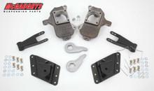 """2001-2010 Chevy Silverado 2500/3500 HD W/ 8 Hole Hangers 3/5"""" Deluxe Drop Kit - McGaughys 33081"""