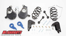 Chevrolet Suburban W/O Auto Ride 2001-2006 3/5 Deluxe Drop Kit - McGaughys 33049