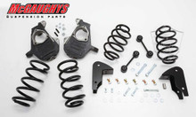 Chevrolet Suburban W/O Auto Ride 2007-2012 3/5 Deluxe Drop Kit - McGaughys 30012