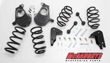 "2007-2014 Chevrolet Suburban LD Shocks 4/5"" Deluxe Drop Kit - McGaughys 30013"