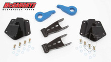McGaughys Chevrolet Tahoe 4wd 4 Door 1995-2000 2/4 Economy Drop Kit - Part# 33147