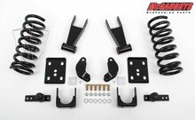 McGaughys Dodge Ram 1500 Standard Cab 2002-2005 2/4.5 Economy Drop Kit - Part# 44003