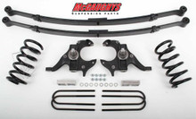McGaughys GMC S-15 Sonoma Extended Cab 1982-2003 4/4 Deluxe Drop Kit W/Leaf Springs - Part# 93115