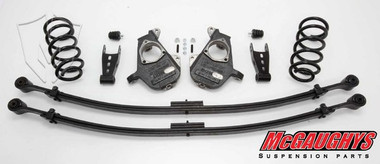 GMC Sierra 1500 Extended Cab 2007-2012 3/5 Deluxe Drop Kit - McGaughys 34002