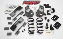 2007-2013 GMC Sierra 1500 Quad Cab 4/7 Deluxe Drop Kit - McGaughys 34003