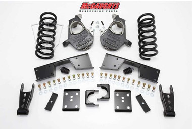 """GMC Sierra 1500 Extended/Quad Cab, 16"""" Wheels 1999-2000 4/6 Deluxe Drop Kit - McGaughys 93019"""