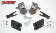 "2001-2010 GMC Sierra 2500/3500 HD W/ 8 Hole Hangers 3/5"" Deluxe Drop Kit - McGaughys 33081"