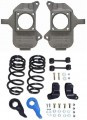 McGaughys Hummer H2 Rear Coil Suspension 2003-2009 2/3 Deluxe Drop Kit - Part# 93092