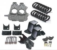 McGaughys Hummer H2 Rear Coil Suspension 2003-2009 2/3 Economy Drop Kit - Part# 33094