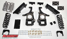 McGaughys 2wd Toyota Tundra Double/Crew Max Cab 2007-2013 4/6 Deluxe Drop Kit - Part# 98016