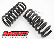"1988-1998 GMC Sierra 1500 2wd 1"" Front Drop Coil Springs - McGaughys 33132"