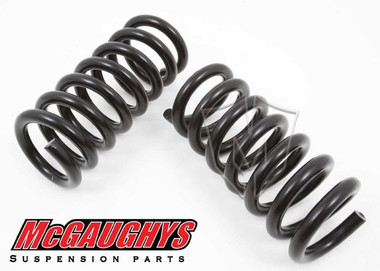 """1988-1998 GMC Sierra 1500 2wd 2"""" Front Drop Coil Springs - McGaughys 33133"""