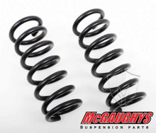 "GMC Sierra 1500 Standard Cab 1999-2006 Front 1"" Drop Coil Springs - McGaughys 33010"