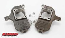 """Chevrolet Silverado 2500HD 17""""+ Wheels 2001-2010 Front 2"""" Drop Spindles - McGaughys 33078"""