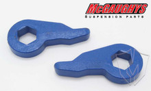 "GMC Sierra 1500 1999-2006 Front 1""-2"" Drop Torsion Keys - McGaughys 33005"