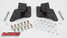 """Chevrolet Silverado 1500HD 2001-2010 Rear 1""""-2"""" Drop Hangers - McGaughys 33087"""